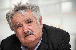 Uruguayan President Jose Mujica speaks d