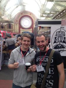 Jeff N Pad. Great British Tattoo Show 2014.