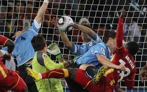 Suarez vs Ghana