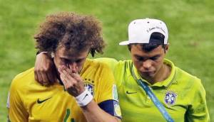 Thiago Silva and David Luiz