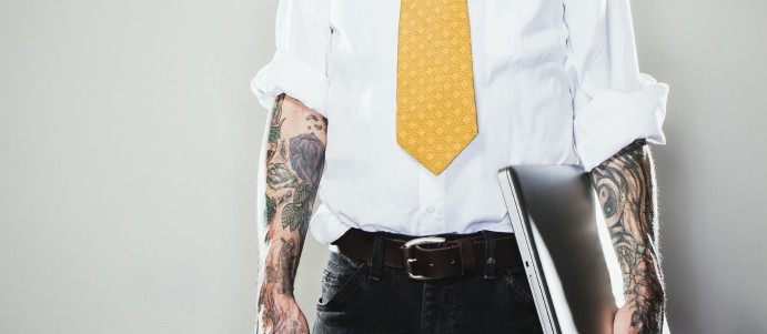 Fight the power tattoo discrimination in the workplace for Tattoos in the workplace discrimination