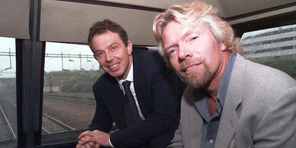 Blair and Branson